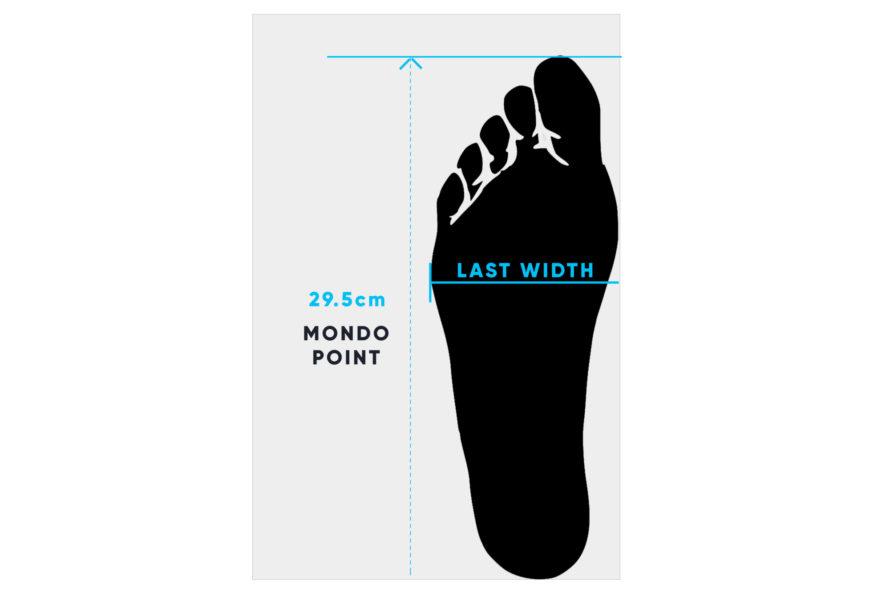 Ski Boot Size Chart \u0026 Mondopoint Size